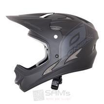 O'Neal Fury Fidlock DH Helm flat schwarz