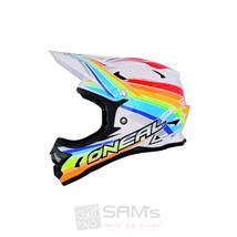 O'Neal Fury Fidlock MTB Helm Evo Rainbow Pic:1