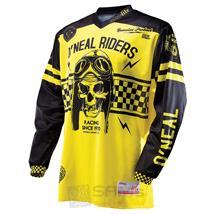 O'Neal Ultra Lite LE´70 Jersey Schwarz Gelb Retro