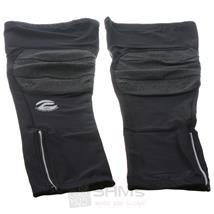 Protective Beinlinge Leg Warmer Schwarz