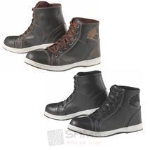 Germot Motorrad Stiefel Fashion Leder Schuhe