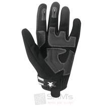 Germot Motorrad Handschuhe Ventura Schwarz Grau Pic:1