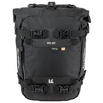 Kriega Motorrad Satteltasche US-20 Drypack 20 Liter, Schwarz