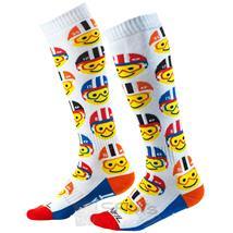 O'Neal Kinder Socken Pro MX Emoji Racer Youth, Mehrfarbig