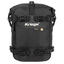 Kriega Motorrad Satteltasche US-10 Drypack 10 Liter, Schwarz
