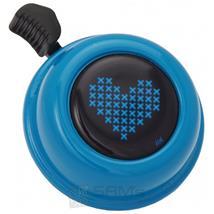 Liix Fahrradklingel Colour Bell Herz, Blau