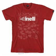 Cinelli T-Shirt Italo Gruppo Kardinal Rot