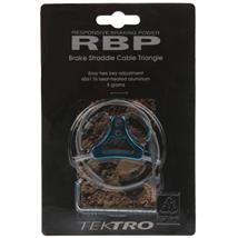 Tektro RBP Triangle Bremskabelträger V-Brake blau