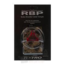 Tektro RBP Triangle Bremskabelträger V-Brake Rot