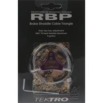 Tektro RBP Triangle Bremskabelträger V-Brake lila