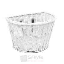 Electra Fahrradkorb Wicker Basket, Weiß