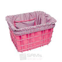 Electra Fahrrad Korb Einlage Pink Türkis Muster
