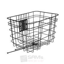 Electra Frontkorb Steel Basket Schwarz