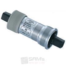Shimano Kompaktinnenlager 68/117,5 mm BB-UN, Silber