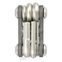 Topeak Multifunktionswerkzeug Mini 6, Grau Pic:1