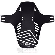 Azonic Mystery Fender Spritzschutz Schwarz / Weiß