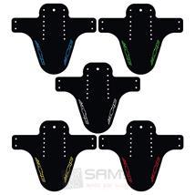 Azonic Splatter Fender Logo Sattel Spritz Schutz