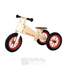 Bambino Trike Holz Lauf- und Dreirad natur