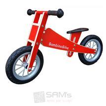 Bambino Bike Kinderlaufrad Holz rot