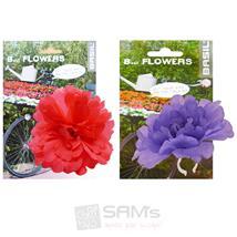 Basil Flower Peony Fahrrad Lenkerblume Dekoration