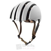 Brooks J.B. Classic faltbarer Helm Elfenbein Weiß