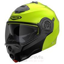 Caberg Droid Motorrad Klapp Helm Neon Gelb Schwarz