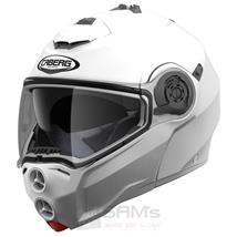 Caberg Droid Motorrad Klapp Helm Weiß Metallic