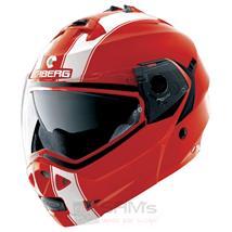 Caberg Klapp Helm Duke II 2 Legend Ducati Rot Weiß