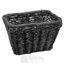 Electra Fahrradkorb Rattan Basket Rectangular, Schwarz