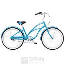 "Electra Cruiser Lux 3i Damen Fahrrad 26"" Blau"
