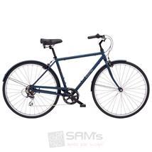"Electra Herren Fahrrad Loft 7D Stadtrad, Blau, 7 Gang, 28"""
