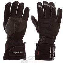 Germot Dallas Motorrad Handschuhe Schwarz Winter