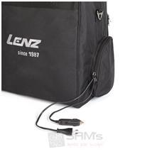 Lenz Beheizbare Tasche Heat Bag 1.0 240 V 12 V, Schwarz Pic:1