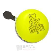 I Love My Bike Neon Gelb