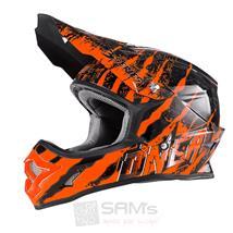 O'Neal Crosshelm 3Series MX Mercury, Orange