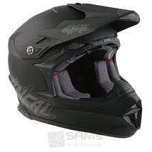 O'Neal 8Series Helm FLAT Schwarz MX