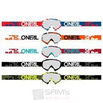 O'Neal B-10 Goggle Pixel Crossbrille Klar