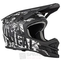O'Neal Blade Rider Schwarz Weiß Fahrrad Helm Pic:3