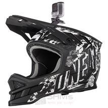 O'Neal Blade Rider Schwarz Weiß Fahrrad Helm Pic:4