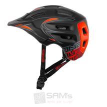 O'Neal Defender Helm MTB Enduro Schwarz Rot