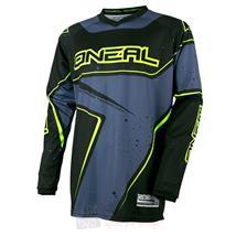 O'Neal Element Racewear Jersey Schwarz Grau Hi-Vis