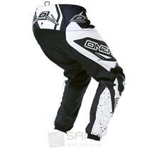 O'Neal Element MX Hose Racewear Schwarz Weiß Pic:1