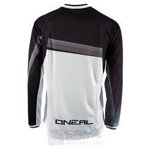 O'Neal Element FR langarm Jersey Schwarz Weiß Pic:2