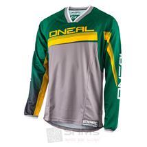 O'Neal Element FR langarm MTB Jersey Grün Gelb