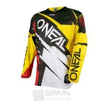 O'Neal Hardwear MX Jersey Flow Jag Gelb Rot