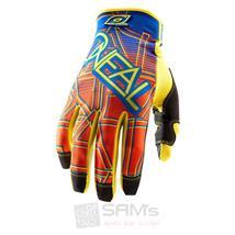 O'Neal Jump Glove Mixxer Blau Orange Handschuh XXL