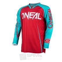 O'Neal Mayhem Lite Jersey Blocker Rot Blau