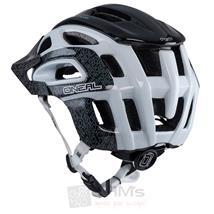 O'Neal Orbiter II Fidlock Helm Schwarz Weiß Pic:2