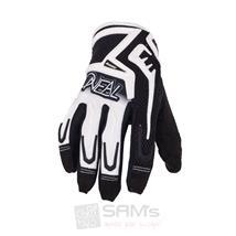 O'Neal Reactor MX Handschuhe Schwarz Weiß