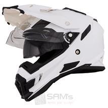 O'Neal Sierra Snow Weiß Motorrad Helm